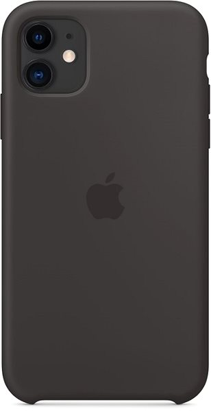 Apple iPhone 11 Silikonový kryt černý - Kryt na mobil