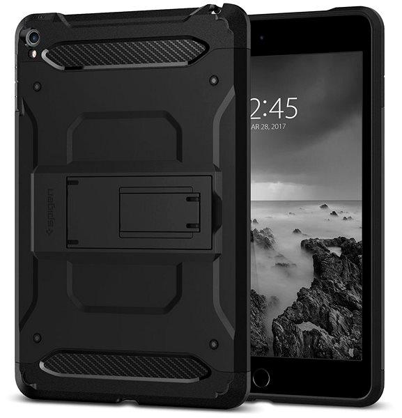 Spigen Tough Armor Black iPad Mini 5 - Ochranný kryt  adf6eabbb7