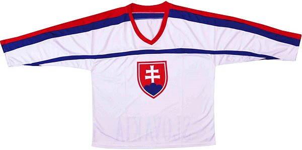 93dcab23345 Hokejový dres SR bílý M - Dres