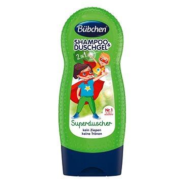 Bübchen Kids Šampon a sprchový gel SUPERHRDINA 230ml - Dětský šampon