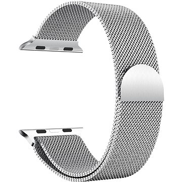 Eternico 38mm / 40mm / 41mm Elegance Milanese pro Apple Watch stříbrný - Řemínek