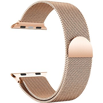 Eternico 38mm / 40mm / 41mm Elegance Milanese pro Apple Watch růžovo zlatý - Řemínek