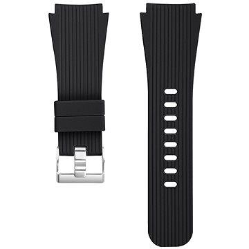 Eternico Essential Vertical Grain Silver Buckle universal Quick Release 22mm černý - Řemínek