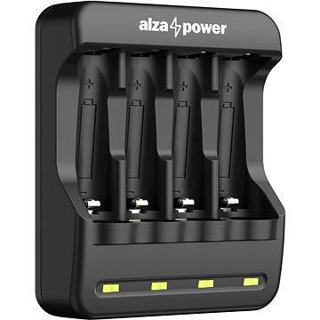 AlzaPower USB Battery Charger AP410B - Nabíječka baterií
