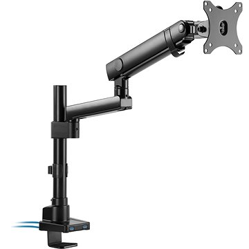 AlzaErgo Arm S70B Essential USB - Držák na monitor