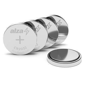 AlzaPower CR2032 5ks - Knoflíková baterie