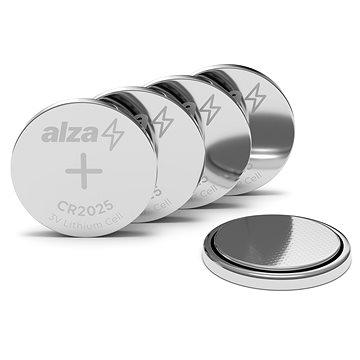 AlzaPower CR2025 5ks - Knoflíková baterie