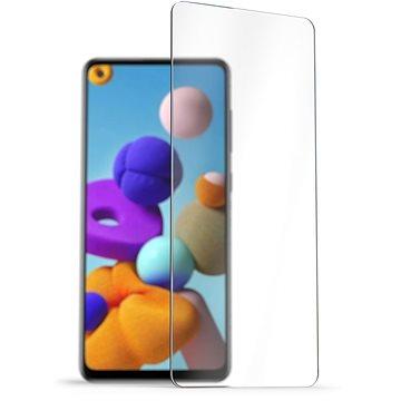 AlzaGuard 2.5D Case Friendly Glass Protector pro Samsung Galaxy A21s - Ochranné sklo