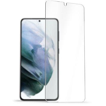 AlzaGuard 2.5D Case Friendly Glass Protector pro Samsung Galaxy S21 - Ochranné sklo