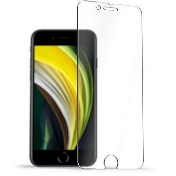 AlzaGuard 2.5D Case Friendly Glass Protector pro iPhone 7 / 8 / SE 2020 - Ochranné sklo