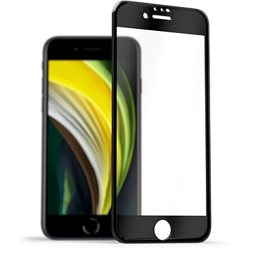 AlzaGuard 3D Elite Glass Protector pro iPhone 7 / 8 / SE 2020 - Ochranné sklo