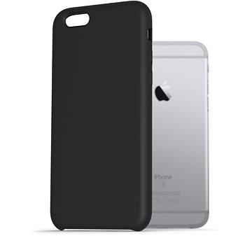 AlzaGuard Premium Liquid Silicone Case pro iPhone 6 / 6s černé - Kryt na mobil