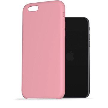 AlzaGuard Premium Liquid Silicone Case pro iPhone 7 / 8 / SE 2020 růžové - Kryt na mobil