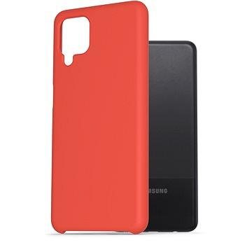 AlzaGuard Premium Liquid Silicone Case pro Samsung Galaxy A12 červené - Kryt na mobil