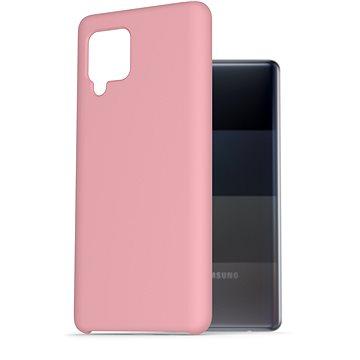 AlzaGuard Premium Liquid Silicone Case pro Samsung Galaxy A42 růžové - Kryt na mobil