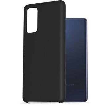 AlzaGuard Premium Liquid Silicone Case pro Samsung Galaxy S20 FE černé - Kryt na mobil