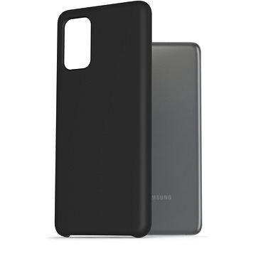 AlzaGuard Premium Liquid Silicone Case pro Samsung Galaxy S20 Ultra 5G černé - Kryt na mobil