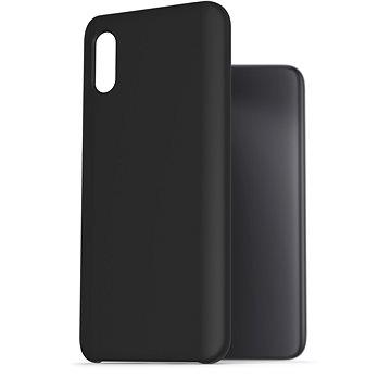 AlzaGuard Premium Liquid Silicone Case pro Xiaomi Redmi 9A černé - Kryt na mobil