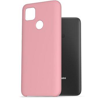AlzaGuard Premium Liquid Silicone Case pro Xiaomi Redmi 9C růžové - Kryt na mobil