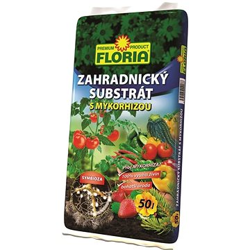 FLORIA Zahradnický substrát s mykorhizou 50 l  - Substrát