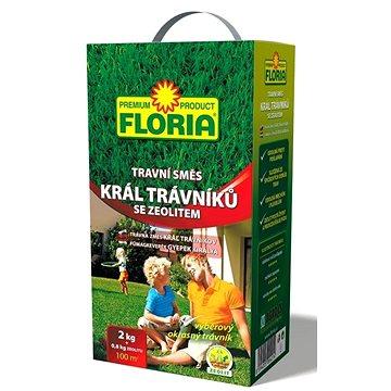 FLORIA Král trávníků 2 kg+zeolit 800 g - Travní směs