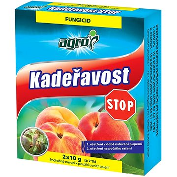 AGRO Kadeřavost STOP  1x20g +  1x10g - Fungicid