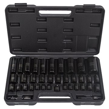 """Hoteche Sada kovaných vnitřních nástrčných klíčů 1/2"""" a 3/8"""", 38 ks - HT206404 - Klíče"""