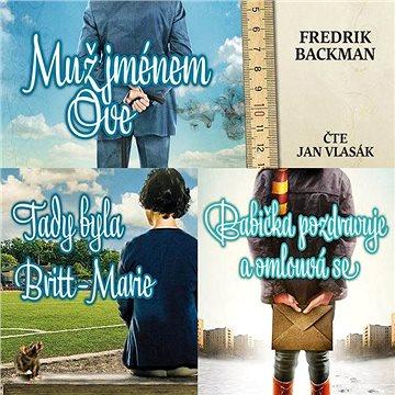 Balíček audioknih Fredrika Backmana za výhodnou cenu