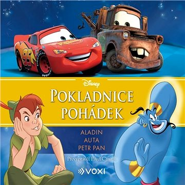 Disney - Aladin, Auta, Petr Pan