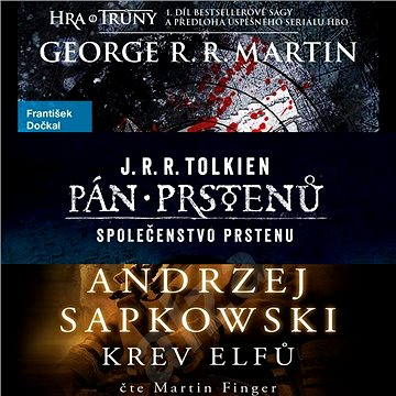 Balíček fantasy audioknih za výhodnou cenu