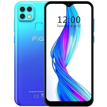 Aligator FiGi Note 1 Pro 128GB gradientní modrá - Mobilní telefon
