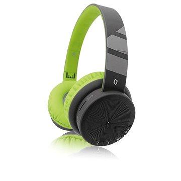 ALIGATOR AH02 zelená - Bezdrátová sluchátka