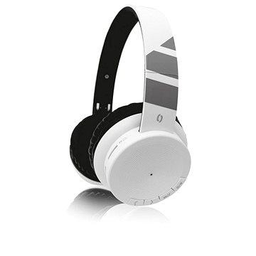 ALIGATOR AH02 bílá - Bezdrátová sluchátka