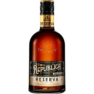 Božkov Republica Reserva 0,5l 38 % - Rum