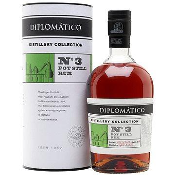 Diplomatico No. 3 Pot Still Rum Distillery Collection 2010 0,7l 47% L.E. - Rum