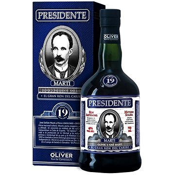 Presidente Marti 19Y 700 Ml 40% - Rum