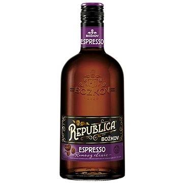 Božkov Republica Espresso 0,7l 35% - Rum