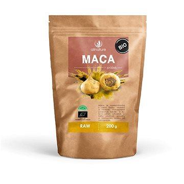 Allnature Maca peruánská prášek BIO RAW 200 g - Doplněk stravy