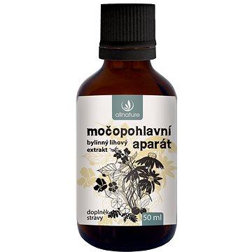 Allnature Močopohlavní aparát bylinný lihový extrakt 50 ml - Bylinné kapky