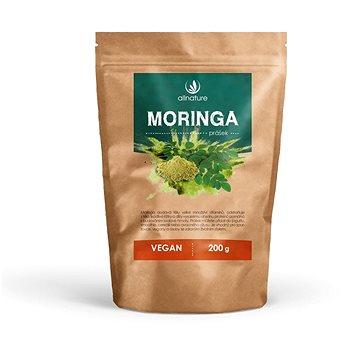 Allnature Moringa prášek RAW 200 g - Doplněk stravy
