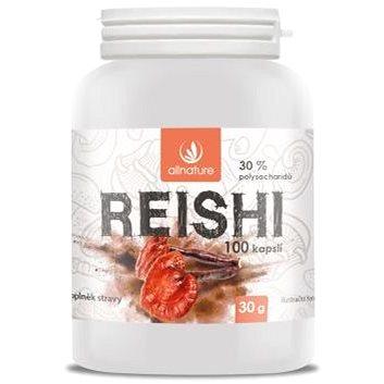 Allnature Reishi kapsle 100  kps. - Reishi