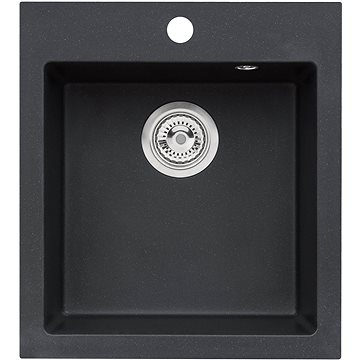 ALVEUS Cortina 20 - G 91 černá - Granitový dřez