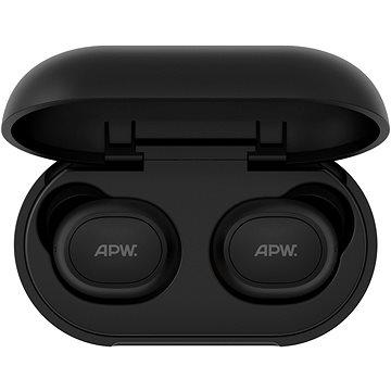 AlzaPower EAZY černá - Bezdrátová sluchátka