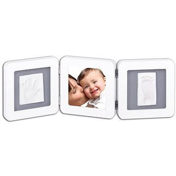 Baby art Fotorámeček Double - bílý/šedý   - Digitální fotorámeček
