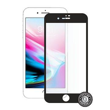 Screenshield APPLE iPhone 8 plus na displej black - Ochranné sklo