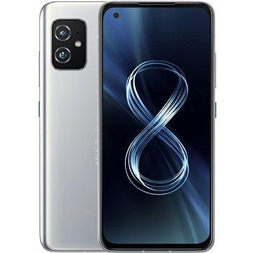 Asus Zenfone 8 16GB/256GB stříbrná - Mobilní telefon