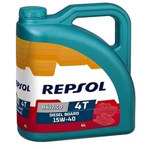 REPSOL NAUTICO OUTBOARD DIESEL BOARD 15W-40 4l - Motorový olej
