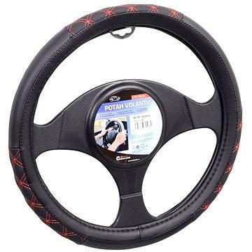 COMPASS Potah volantu BLIND červený - Potah na volant