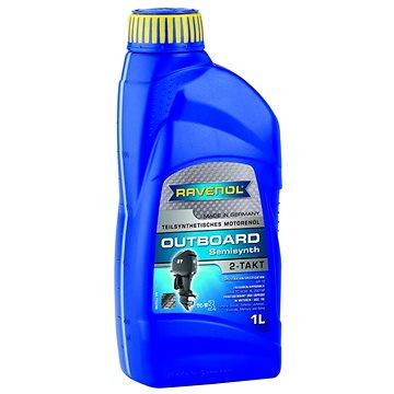 RAVENOL Outboardoel 2T Teilsynth.; 1 L - Motorový olej