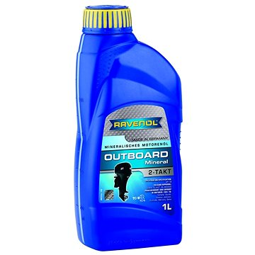 RAVENOL Outboardoel 2T Mineral; 1 L - Motorový olej